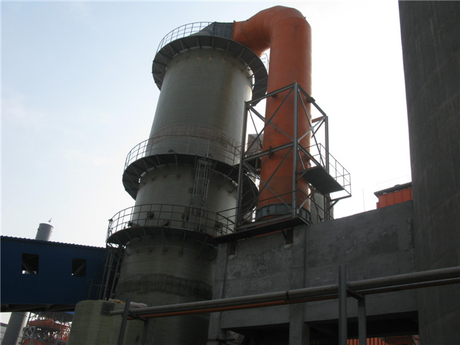 150吨锅炉脱硫塔